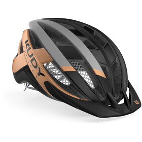 Rudy Project Venger MTB Casque, black/bronze matte